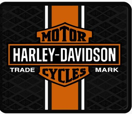Harley Davidson Classic Rubber Utility Mat by Harley-Davidson