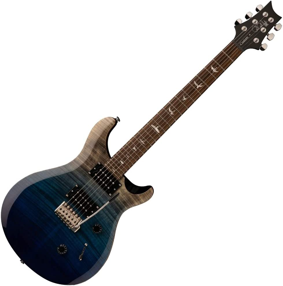 PRS 2020 SE Custom 24 Limited Edition - Charcoal Blue Fade