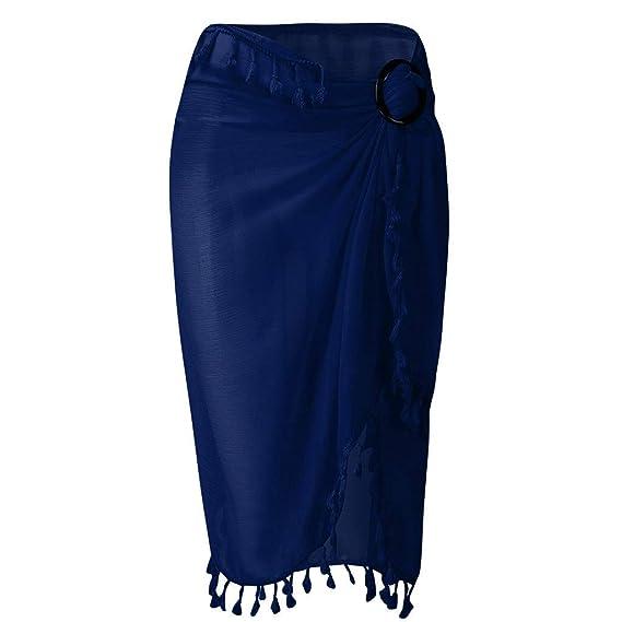 Faldas Mujer Cortas Verano Bohemias PAOLIAN Faldas Fiesta Boho ...