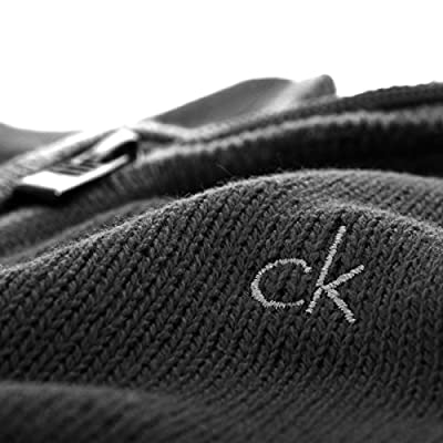 Calvin Klein Golf Men's Chunky Cotton Sweater - US L - Black