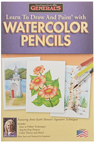 General Pencil Learn to Draw and Paint with Watercolor Pencils ()
