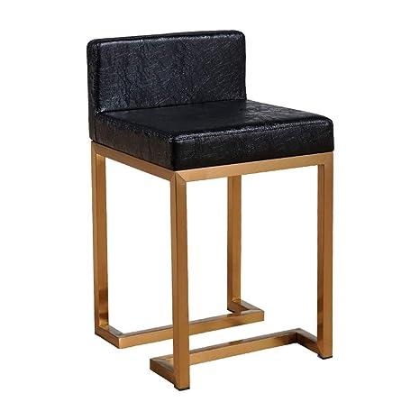 Amazon.com: Taburete de bar Nan Liang, moderno minimalista ...