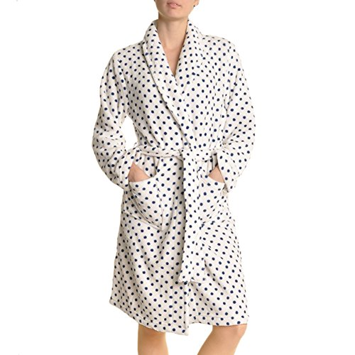 Angelina Premium Micro-Fleece Bathrobes #91159_RainRobe_L