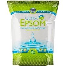 Ultra Epsom Premium Epsom Salt, Medium - 25 lb Bag