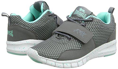 Femmes Multisport Air De Pour Novas Gris Plein Neuf Lonsdale Chaussures gris ZxBpwp