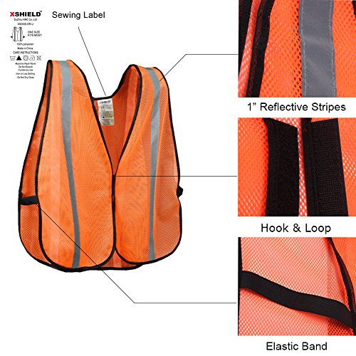 xshield-xs0008-10high-visibility-safety-vest-with-silver-stripeansi-class-unrateduniversal-sizepack-of-10-orange