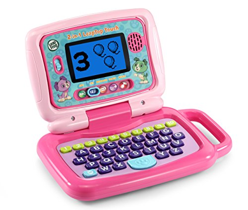 LeapFrog 2-in-1 LeapTop Touch, Pink by LeapFrog (Image #1)