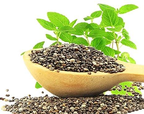 Semillas de Chía orgánica, 8 Onzas - negro, vegano, kosher, sin ...