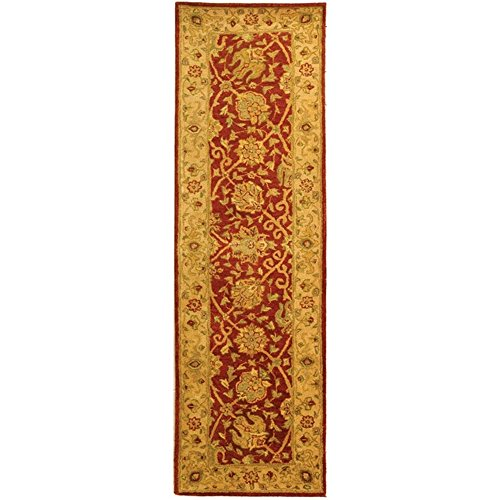 """UPC 683726277484, Safavieh Antiquities Collection AT21A Handmade Traditional Oriental Rust Wool Runner (2'3"""" x 10')"""