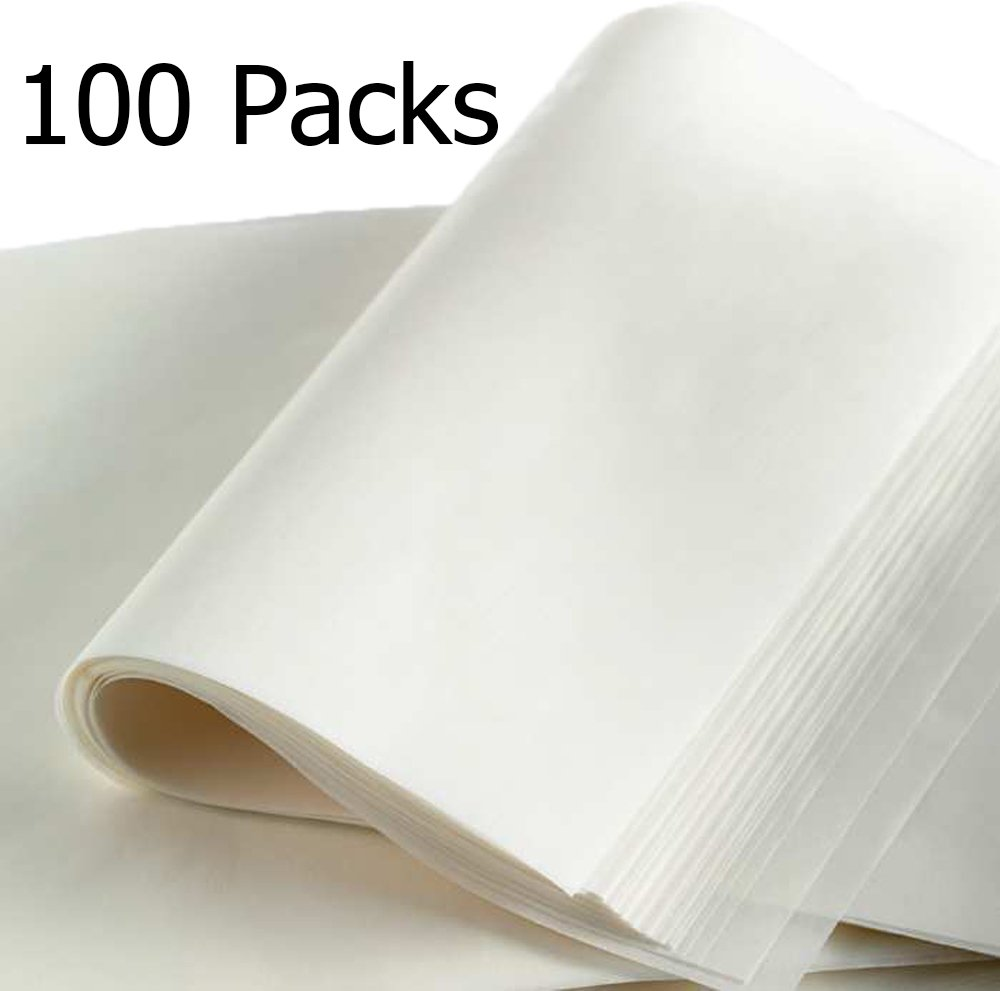 Parchment Paper Sheets - Air Fryer/Cheesecake/Cookie Pre-cut Baking Liners(9x13 Inch)