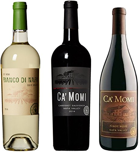 Ca'Momi Napa Valley Dinner Party Wine Gift Pack 3 x 750 mL