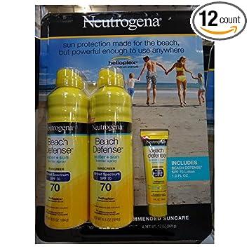 Amazon.com: 6 Wholesale Lots 2 Pack Neutrogena Beach Defense Water ...