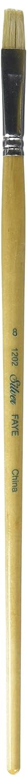 Silver Brush 1202-8 Faye Student Grade Long Handle Hog Bristle Brush, Bright, Size 8 Silver Brush Limited