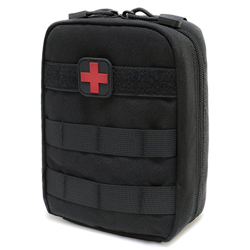 EMT Pouch MOLLE Ifak Pouch Tactical MOLLE Medical First Aid Kit Utility Pouch Carlebben