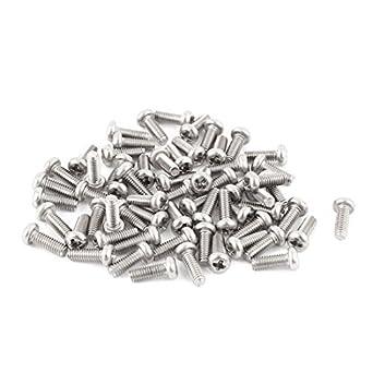 M2.5 7mm 304 Tornillos de cabeza redonda de acero inoxidable ...