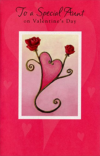 Amazon two roses form heart aunt freedom greetings two roses form heart aunt freedom greetings valentines day card m4hsunfo