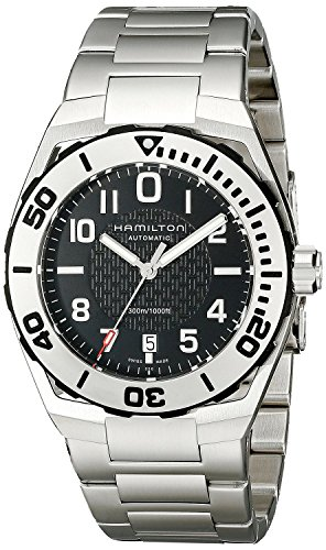 HAMILTON watch Khaki Navy SUB auto H78615135 Men's [regular imported goods]