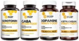 Brain Supplement - Natural Stacks - Brain Food Box - 30 Day Supply - Dopamine, Serotonin, Acetylcholine, and Gaba Brain Food - Improves Mood, Focus, Relaxation and Restorative Sleep