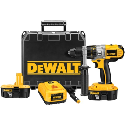 DEWALT DCD950VX 18-Volt 1/2-Inch XRP Hammerdrill/Drill/Driver with Vehicle Charger