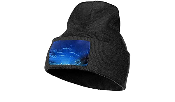 Horizon-t Starry Sky Unisex 100/% Acrylic Knitting Hat Cap Fashion Beanie Hat