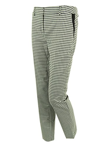 - Jones New York Women's Houndstooth Claire Pants (2P, Black/Ivory)