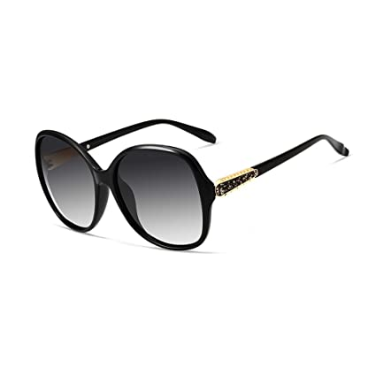 LIZHIQIANG Gafas De Sol Polarizadas Mujeres Gafas De Sol Grandes De Marco  UV Gafas De Sol 57fd51a69755
