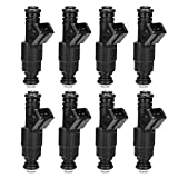 bosch 0280155703 fuel injector - 4 Hole Fuel Injector for Chevrolet Express C- K- G3500 G30 GMC 7.4L Update Flow Matched (Pack of 8)