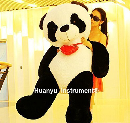 Big 160cm Stuffed Panda Giant Panda Toys Christmas Birthday Gift
