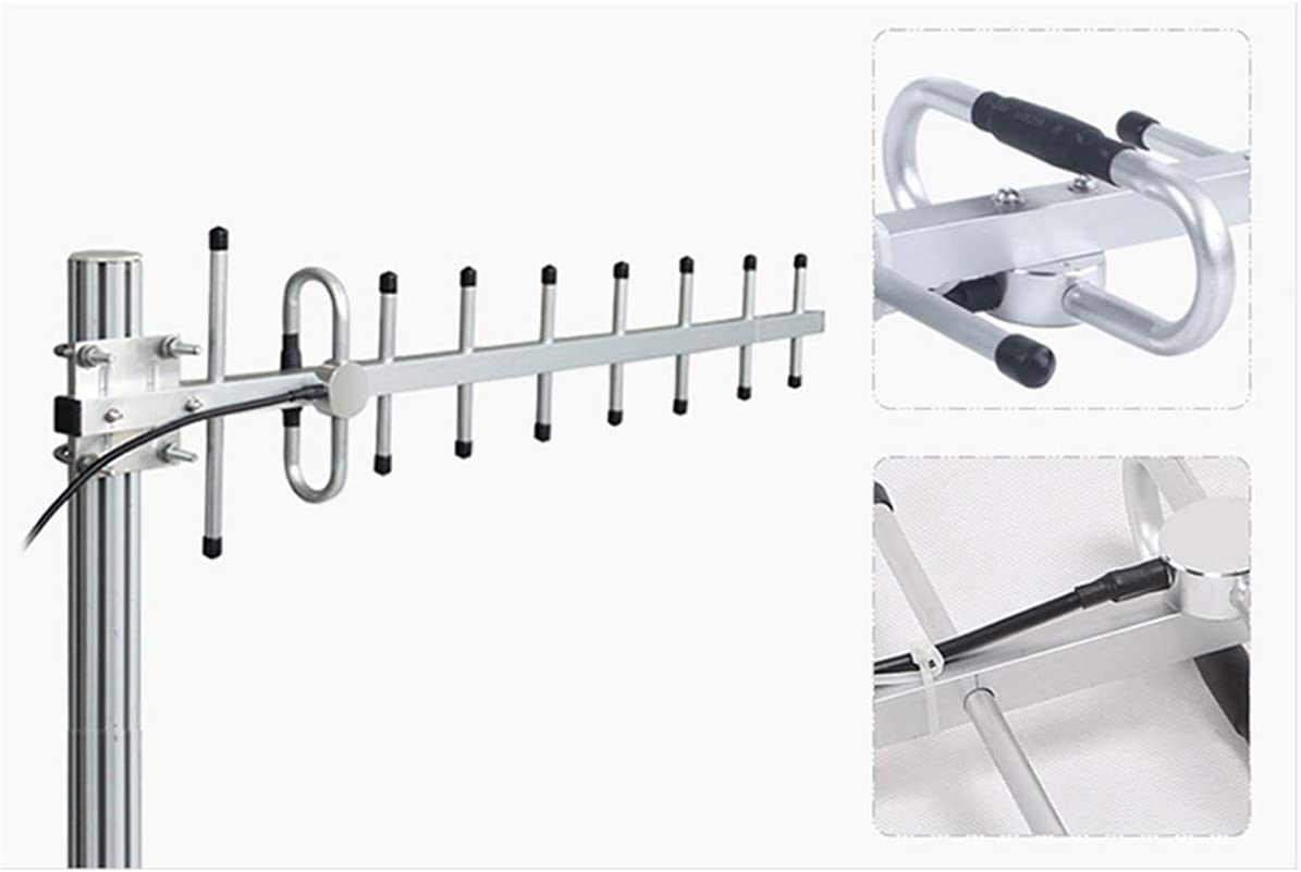 XHTECH 11dBi 824-960MHz GSM CDMA Yagi Antenna Outdoor Directional Connector for Cell Phone Signal Booster