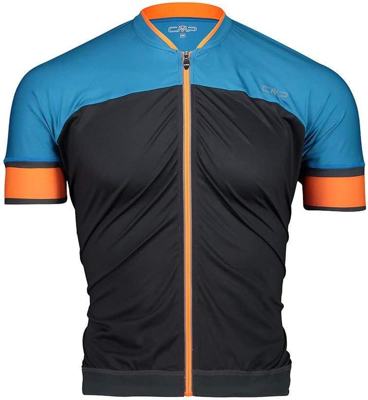 CMP Herren Bike T-Shirt Bicolor Fullzip 30c7907