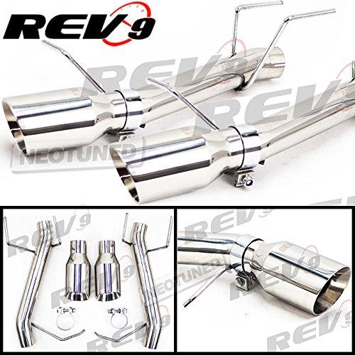 Rev9 (CB-1024A) FlowMaxx Stainless Steel Exhaust Kit For Ford Mustang V6 2011-14, 2.5