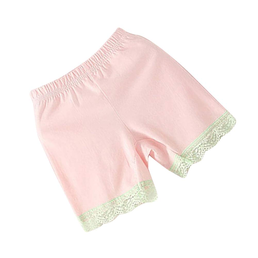 Shengshui Little Girls Summer Lace Boxers Underwear