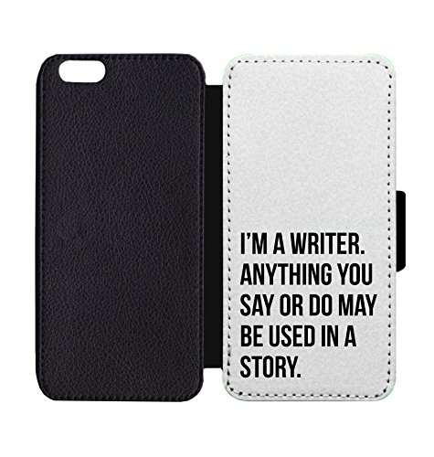 (Wallet Phone Case I'm A Writer for iPhone 7 Plus / 7S Plus)