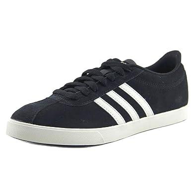 3e6a264c52 adidas Women's Courtset Black/Chalk White/Copper Suede 7 B US ...