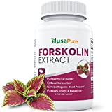 Forskolin Extract for Weight Loss: Vegetarian: Pure Forskolin Extract: 2x Strength of Forskolin 125mg: Forskolin Belly Buster for Women and Men: Best Forskolin Extract Available: 60 Caps