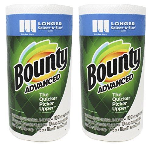 Bounty Advanced Select A-Size, Longer Sheet 11 x 7.1 Inch, White (220 Sheets)