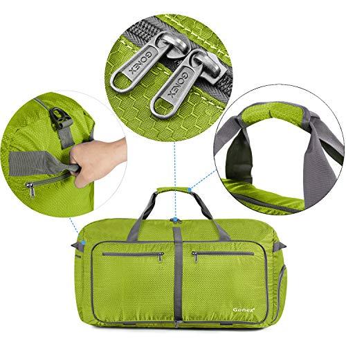 Gonex 100L Foldable Travel Duffel Bag for Luggage Gym Sports, Lightweight  Travel Bag with Big cfe1490bc9