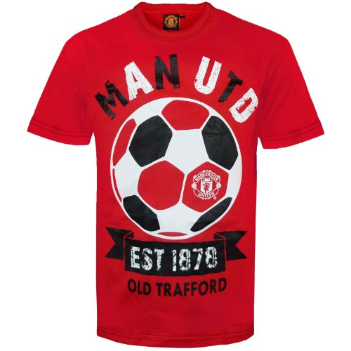 - Manchester United Football Club Official Soccer Gift Infants T-Shirt 4-5 Years