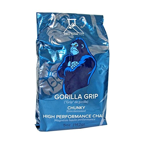 FrictionLabs Gorilla Grip Chunky Texture The New Standard in Chalk for Rock Climbing, Crossfit and Powerlifting, 5 oz./142 g