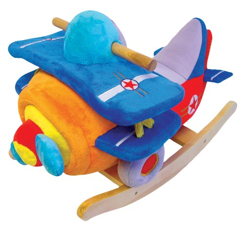 Charm Company Bi-Plane Rocker with Musical Sound by Charm Company
