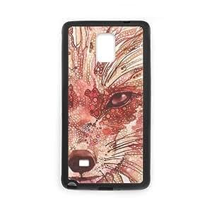 Lycase(TM) FOX Custom Phone Case, FOX Samsung Galaxy Note 4 Case