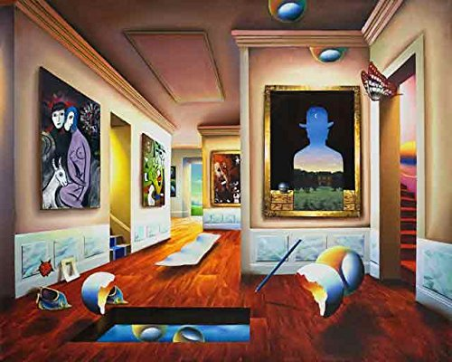 Interior with Magritte by ()