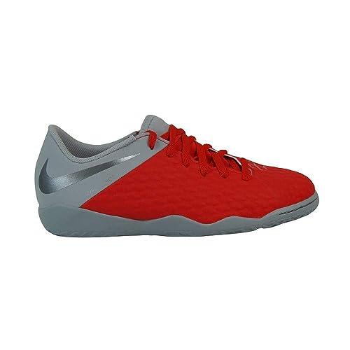 Nike JR Hypervenom 3 Academy IC, Zapatillas de fútbol Sala Unisex para Niños, (Lt Crimson/Mtlc Dark Wolf Grey 600), 33 EU: Amazon.es: Zapatos y complementos
