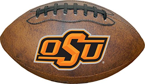 NCAA Oklahoma State Cowboys Color Logo Mini Football, 9-Inches - Oklahoma State Cowboys Gear