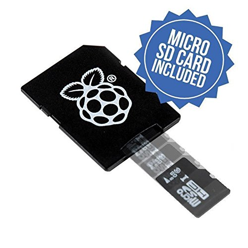 Raspberry Pi 16GB Preloaded (NOOBS) SD Card, Pre-installed, Class 10 - Raspberry Pi Recovery System (1 Pack) 'Packaging May Vary'
