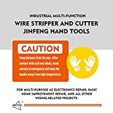 Jinfeng 8 inch Wire Stripper and Wire Cutters,Cable