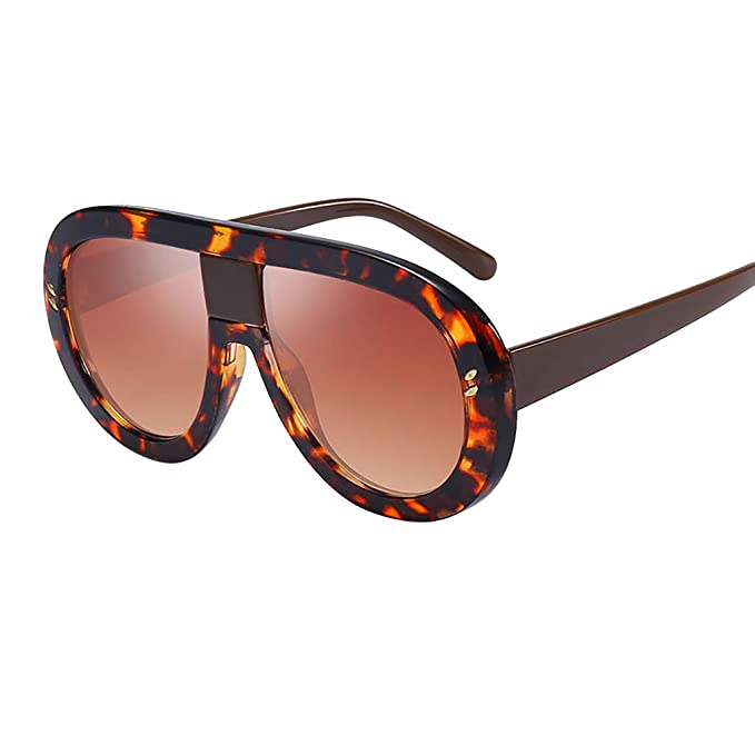Mymyguoe Gafas de Sol Mujer Grandes Dama Gafas de Sol Vintage Gafas de Sol Retro Gafas de protección de la radiación Gafas de Sol polarizadas para Mujer: ...
