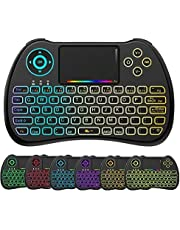Q Plus TV Box and H9 Backlit Wireless Keyboard