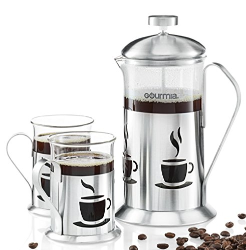 gourmia-gcm9840-french-press-coffee-maker-set-includes-600-ml-decorative-french-press-coffee-brewer-