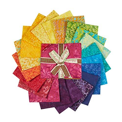 Island Batik Kaleidoscope Fat Quarter Fat Quarter Bundle - 20 pieces